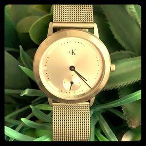 Calvin Klein Vintage Mesh Band Watch